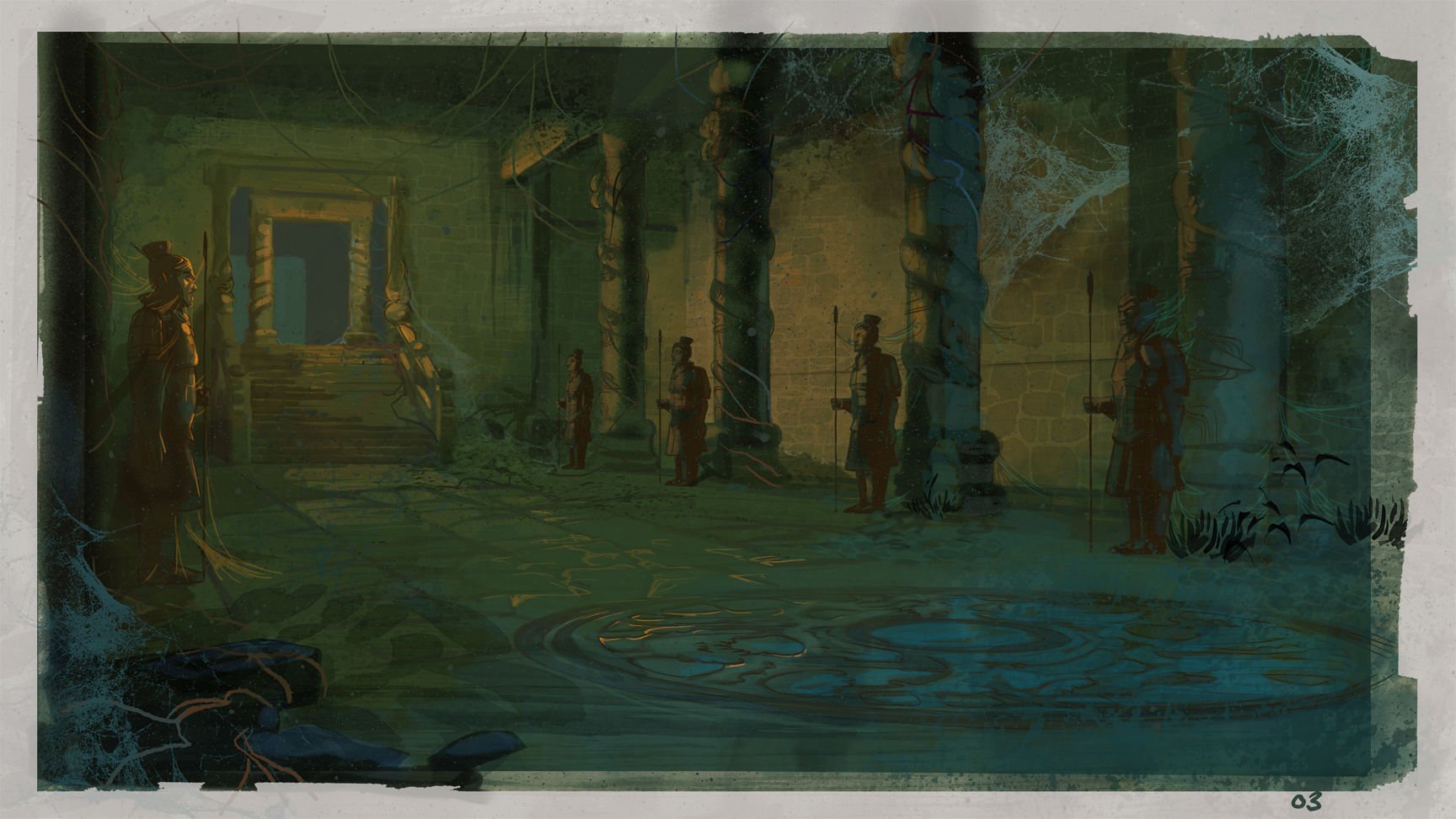 Indiana Jones Animated Concept Art Patrick Schoenmaker
